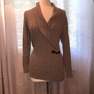 Calvin Klein XL cable knit sweater